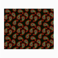 Pattern Abstract Paisley Swirls Small Glasses Cloth by Onesevenart