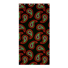 Pattern Abstract Paisley Swirls Shower Curtain 36  X 72  (stall)  by Onesevenart