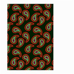 Pattern Abstract Paisley Swirls Small Garden Flag (two Sides) by Onesevenart