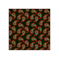 Pattern Abstract Paisley Swirls Acrylic Tangram Puzzle (4  X 4 ) by Onesevenart