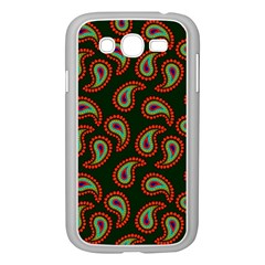 Pattern Abstract Paisley Swirls Samsung Galaxy Grand Duos I9082 Case (white) by Onesevenart
