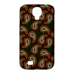 Pattern Abstract Paisley Swirls Samsung Galaxy S4 Classic Hardshell Case (pc+silicone) by Onesevenart