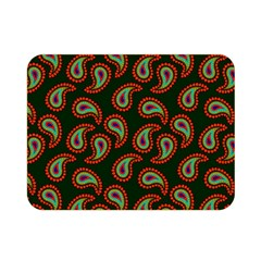 Pattern Abstract Paisley Swirls Double Sided Flano Blanket (mini)  by Onesevenart