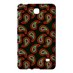 Pattern Abstract Paisley Swirls Samsung Galaxy Tab 4 (8 ) Hardshell Case  by Onesevenart