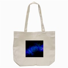 Particles Gear Circuit District Tote Bag (cream) by Onesevenart