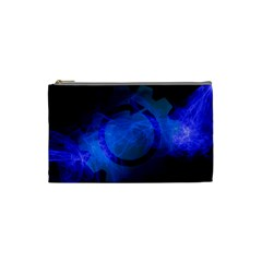 Particles Gear Circuit District Cosmetic Bag (small)  by Onesevenart