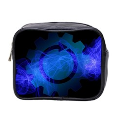 Particles Gear Circuit District Mini Toiletries Bag 2 Side by Onesevenart
