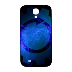 Particles Gear Circuit District Samsung Galaxy S4 I9500/i9505  Hardshell Back Case by Onesevenart