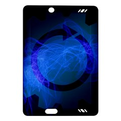 Particles Gear Circuit District Amazon Kindle Fire Hd (2013) Hardshell Case by Onesevenart