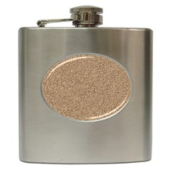 Mosaic Pattern Background Hip Flask (6 Oz) by Onesevenart