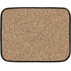 Mosaic Pattern Background Double Sided Fleece Blanket (mini)  by Onesevenart