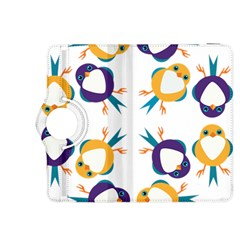 Pattern Circular Birds Kindle Fire Hdx 8 9  Flip 360 Case by Onesevenart