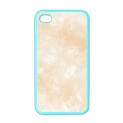 Pattern Background Beige Cream Apple Iphone 4 Case (color) by Onesevenart