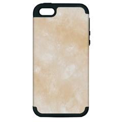 Pattern Background Beige Cream Apple Iphone 5 Hardshell Case (pc+silicone) by Onesevenart
