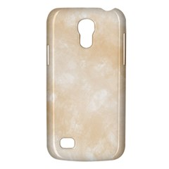 Pattern Background Beige Cream Galaxy S4 Mini by Onesevenart