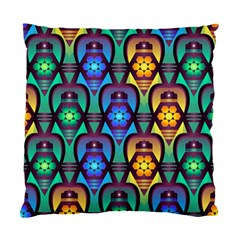 Pattern Background Bright Blue Standard Cushion Case (two Sides) by Onesevenart