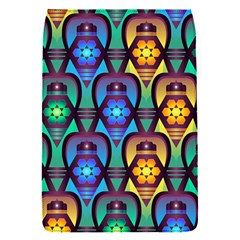 Pattern Background Bright Blue Flap Covers (s)  by Onesevenart