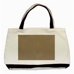 Pattern Background Stripes Karos Basic Tote Bag (two Sides) by Onesevenart