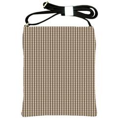 Pattern Background Stripes Karos Shoulder Sling Bags by Onesevenart