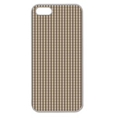 Pattern Background Stripes Karos Apple Seamless Iphone 5 Case (clear) by Onesevenart