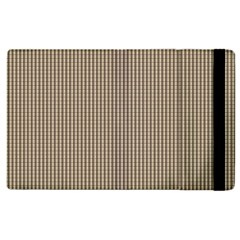 Pattern Background Stripes Karos Apple Ipad 3/4 Flip Case by Onesevenart