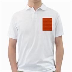 Pattern Creative Background Golf Shirts by Onesevenart