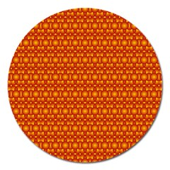 Pattern Creative Background Magnet 5  (round) by Onesevenart