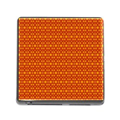Pattern Creative Background Memory Card Reader (square) by Onesevenart