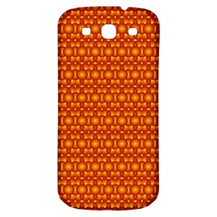 Pattern Creative Background Samsung Galaxy S3 S Iii Classic Hardshell Back Case by Onesevenart