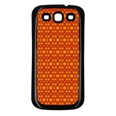 Pattern Creative Background Samsung Galaxy S3 Back Case (black) by Onesevenart