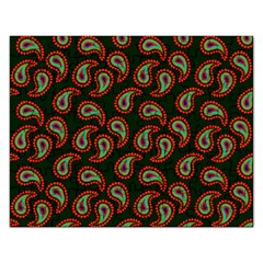 Pattern Abstract Paisley Swirls Rectangular Jigsaw Puzzl by Onesevenart
