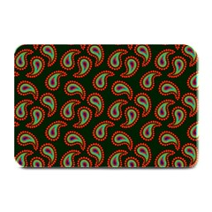 Pattern Abstract Paisley Swirls Plate Mats by Onesevenart