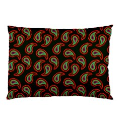 Pattern Abstract Paisley Swirls Pillow Case by Onesevenart