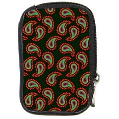 Pattern Abstract Paisley Swirls Compact Camera Cases by Onesevenart