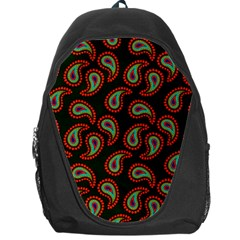 Pattern Abstract Paisley Swirls Backpack Bag by Onesevenart