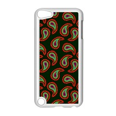 Pattern Abstract Paisley Swirls Apple Ipod Touch 5 Case (white) by Onesevenart