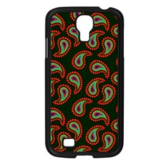 Pattern Abstract Paisley Swirls Samsung Galaxy S4 I9500/ I9505 Case (black) by Onesevenart