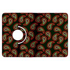 Pattern Abstract Paisley Swirls Kindle Fire Hdx Flip 360 Case by Onesevenart