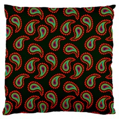 Pattern Abstract Paisley Swirls Standard Flano Cushion Case (two Sides) by Onesevenart