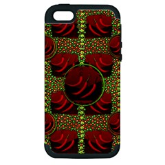 Spanish And Hot Apple Iphone 5 Hardshell Case (pc+silicone) by pepitasart