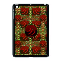 Spanish And Hot Apple Ipad Mini Case (black) by pepitasart