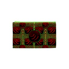 Spanish And Hot Cosmetic Bag (xs) by pepitasart