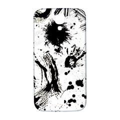 Pattern Color Painting Dab Black Samsung Galaxy S4 I9500/i9505  Hardshell Back Case by Onesevenart