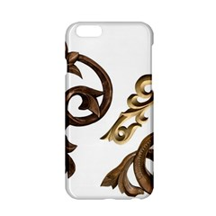Pattern Motif Decor Apple Iphone 6/6s Hardshell Case by Onesevenart