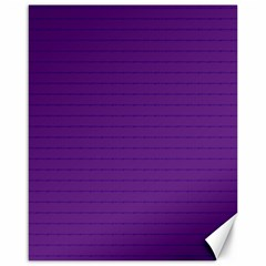 Pattern Violet Purple Background Canvas 16  X 20   by Onesevenart