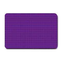 Pattern Violet Purple Background Small Doormat  by Onesevenart