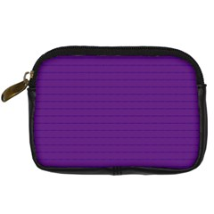 Pattern Violet Purple Background Digital Camera Cases by Onesevenart