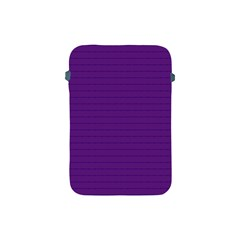 Pattern Violet Purple Background Apple Ipad Mini Protective Soft Cases by Onesevenart