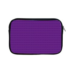 Pattern Violet Purple Background Apple Ipad Mini Zipper Cases by Onesevenart