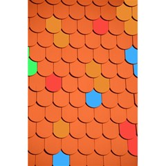 Roof Brick Colorful Red Roofing 5 5  X 8 5  Notebooks by Onesevenart